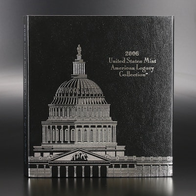 """""""2006 United States Mint American Legacy Collection"""" Proof Coin Set"""