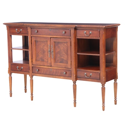 Stanley Furniture French Provincial Style Mahogany, Maple, and Cherry Sideboard