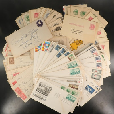 Postcards, First Day Covers, and Postal Checks