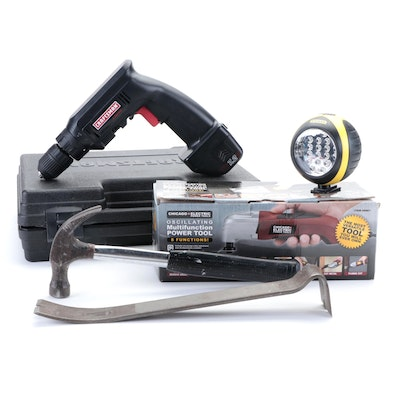 Craftsman and Other Cordless Drill, Multifunction Power Tool and More