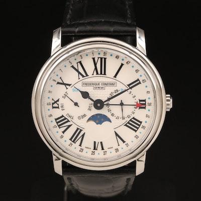 Frederique Constant Business Timer Wristwatch