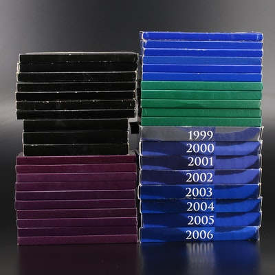 Collection of U.S. Proof Sets 1968-2006