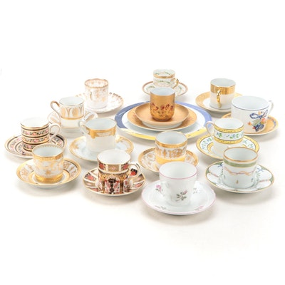 Wedgwood, Haviland, and Other Bone China and Porcelain Demitasse Sets and More