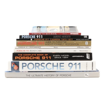"First Edition ""Porsche 911: Performance"" and Other Porsche Books"