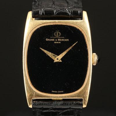 18K Baume & Mercier Stem Wind Wristwatch