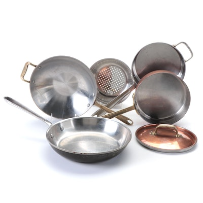 All-Clad and Cop-R-Chef Steel and Copper Clad Cookware