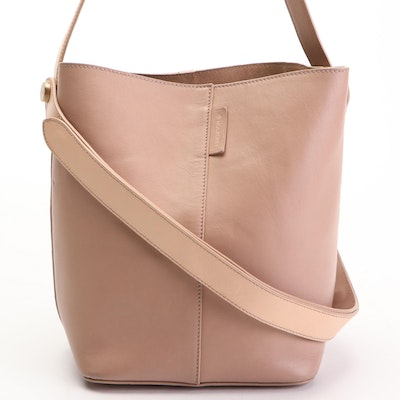 Mulberry Small Kite Satchel in Blush Leather with Double Strap