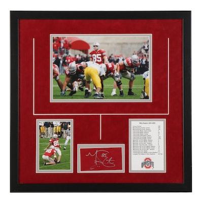 Mike Nugent Signed Ohio State Buckeyes NCAA Football Photo Prints, COA