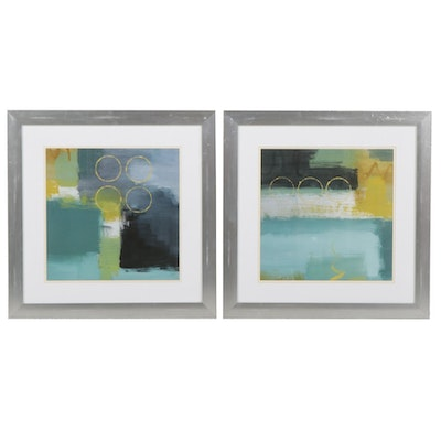 Abstract Offset Lithographs After Lanie Loreth, 21st Century