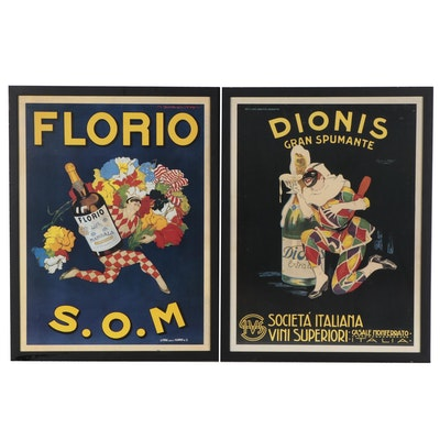 Offset Lithograph Posters After Marcello Dudovich and Plinio Codognato