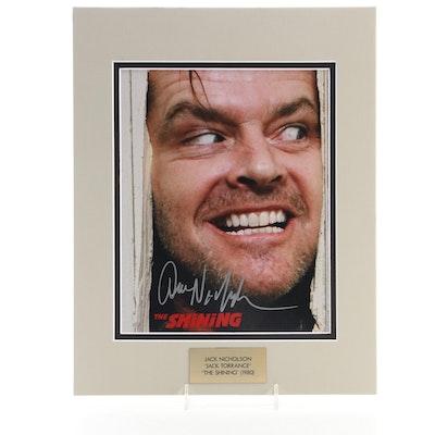 """Jack Nicholson """"Jack Torrance"""" Signed """"The Shining"""" (1980) Movie Photo Print"""