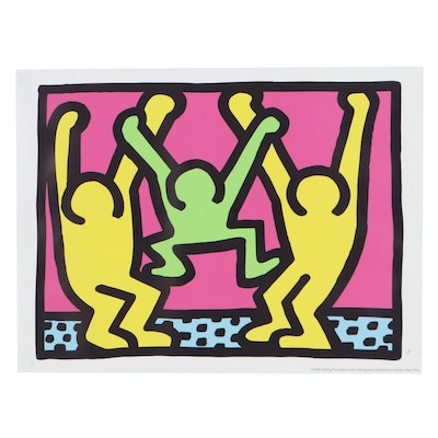 """Giclée After Keith Haring """"Family,"""" 21st Century"""