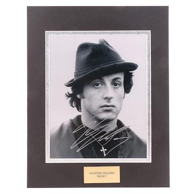 "Sylvester Stallone ""Rocky Balboa"" Signed ""Rocky"" Movie Photo Print, COA"