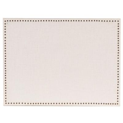 Restoration Hardware Upholstered Pinboard