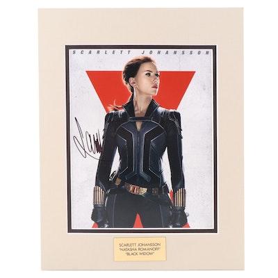 "Scarlett Johansson ""Natasha Romanoff"" Signed ""Black Widow"" Movie Photo Print"