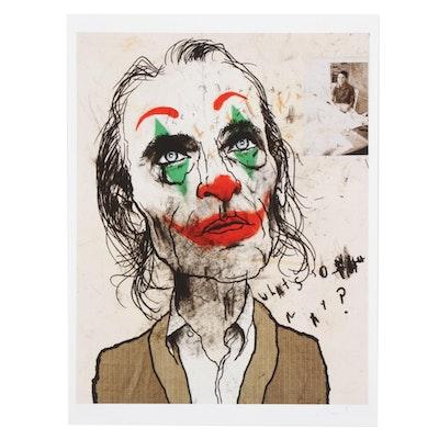 """Lewis Rossignol Giclée """"Joker,"""" 21st Century"""