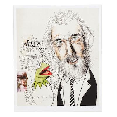 "Lewis Rossignol Giclée ""Jim Henson / Muppets,"" 21st Century"