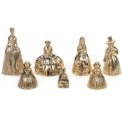 Figural Brass Bells