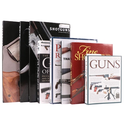 """First Edition """"Fine Shotguns"""" by John M. Taylor and Other Gun Books"""