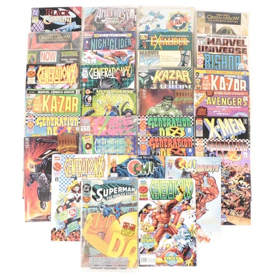 """Bronze and Modern Age Comics Including""""Generation X"""", 1980s - 1990s"""