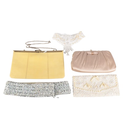 Harry Levine, Etra and Other Handbags, Collar and Belt