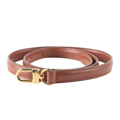 Louis Vuitton Brown Leather Replacement Strap