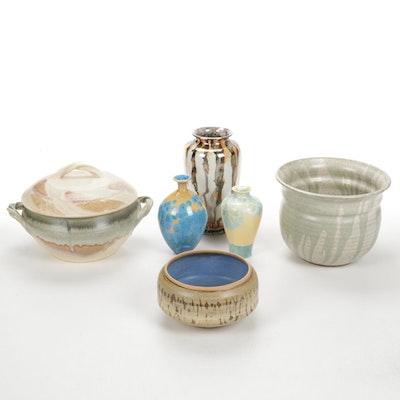 Ceramic Bowls and Vases
