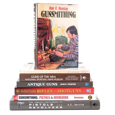 """Second Edition """"Gunsmithing"""" by Roy F. Dunlap and More Gun Books"""