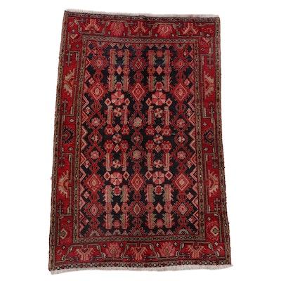 3'6 x 5'3 Hand-Knotted Persian Kurdish Area Rug