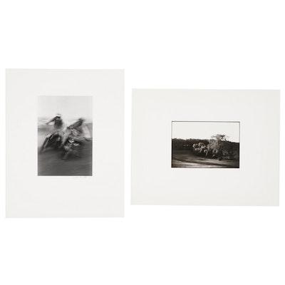 Linda Burnett and Betty Berstein Recreation Silver Gelatin Photographs, 1973