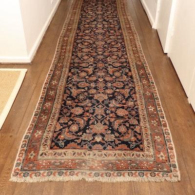 3' x 20'6 Hand-Knotted Persian Hamadan Herati Carpet Runner