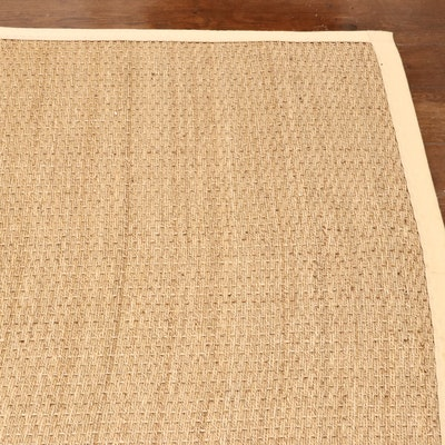 7' x 9'6 Machine Made Sisal Flat Weave Rug