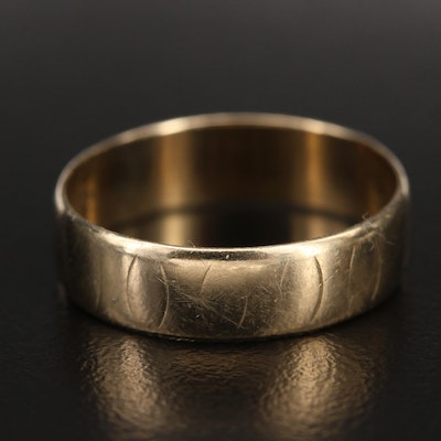 14K Smooth Wide Band