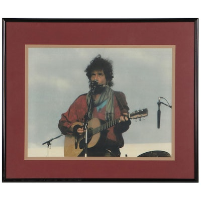 Giclée of Bob Dylan, Late 20th Century