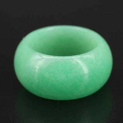 Quartz Hololith Ring