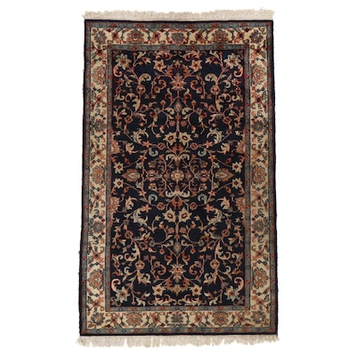 3'10 x 6'8 Hand-Knotted Persian Tabriz Area Rug