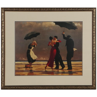 """Offset Lithograph After Jack Vettriano """"The Singing Butler"""""""