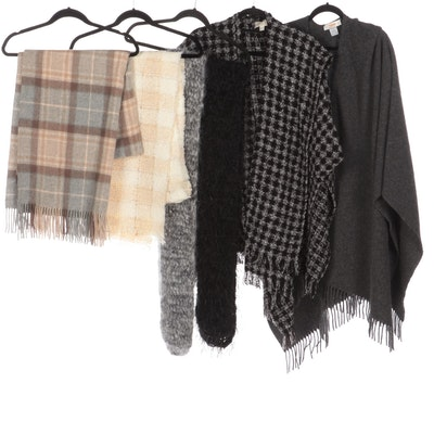 Boyne Valley Weavers and Talbots Wraps with Blarney Woollen Mills Scarf and More