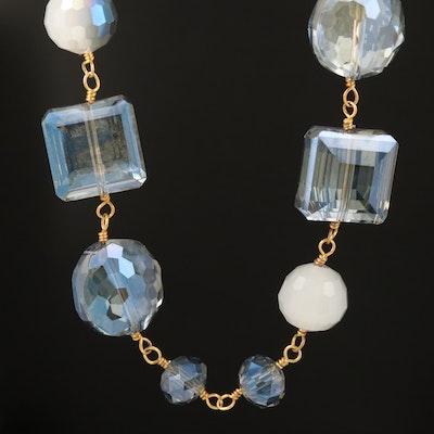 Glass Station Necklace