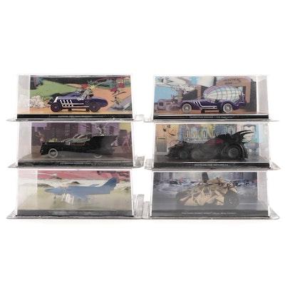 Eaglemoss Ltd. DC Comics Diecast Model Vehicles with Batplane II in Packaging