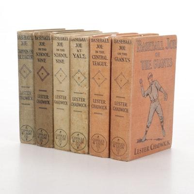 "1912-1925, ""Baseball Joe"" Partial Book Series by Lester Chadwick"