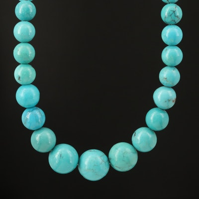 Desert Rose Trading Co Turquoise Graduated Necklace
