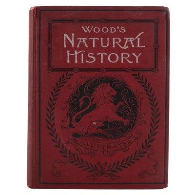 """Illustrated """"Wood's Natural History"""" by John George Wood, C. 1895"""