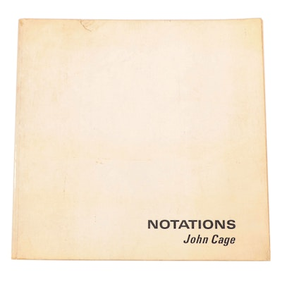 """""""Notations"""" Musical Manuscripts By John Cage, 1969"""