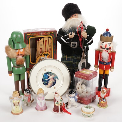 Christmas Ornaments, Holiday Decor and Nutcrackers from Lenox, Spode and More