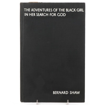"""""""The Adventures of the Black Girl In Her Search For God"""" by Bernard Shaw, 1933"""