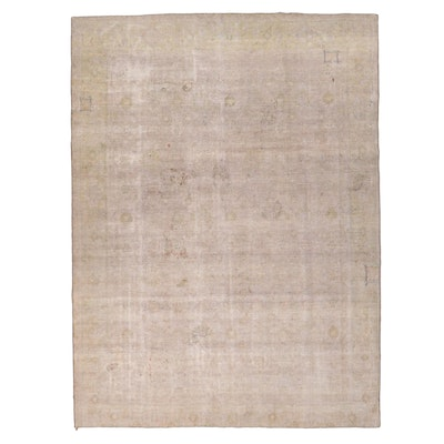 8'11 x 11'11 Hand-Knotted Persian Overdyed Room Size Rug