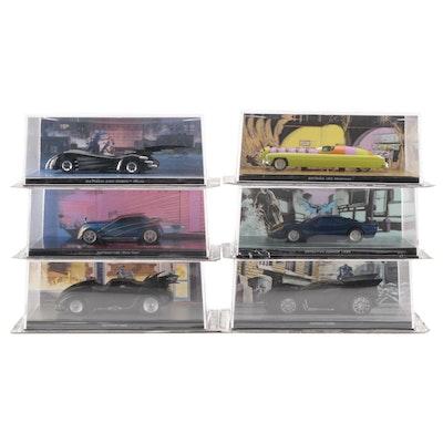 Batman Diecast Vehicles from Eaglemoss Ltd. D.C. Comics in Packaging