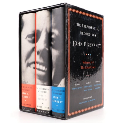 """The Presidential Recordings: John F. Kennedy"" Three-Volume Box Set, 2001"