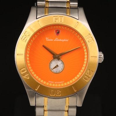 Tonino Lamborghini Two-Tone Wristwatch